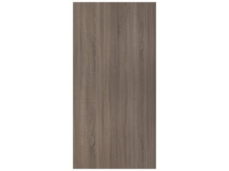 CanDo panneau de meuble 250x125 cm 18mm chêne bronze