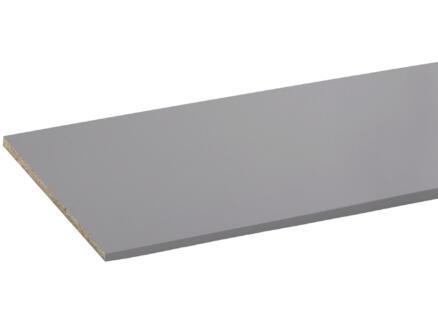 CanDo panneau de meuble 250x40 cm 18mm aluminium