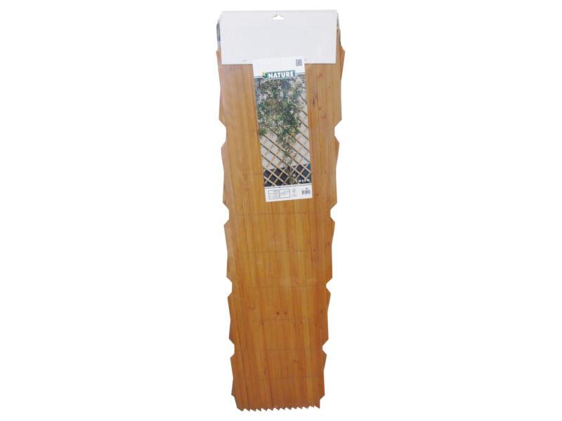 Ubbink panneau treillis 100x300cm réglable bois