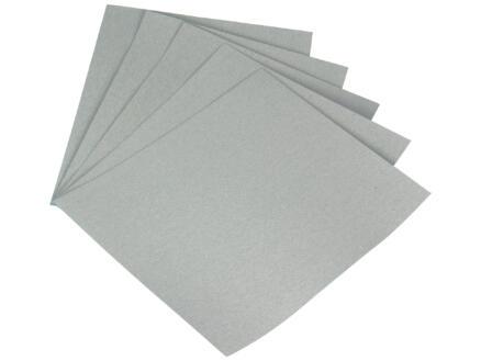 Sam papier abrasif G280 sec medium 5 pièces