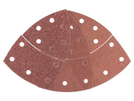 Bosch papier abrasif G40/G120/G180 102x93 mm 10 pièces