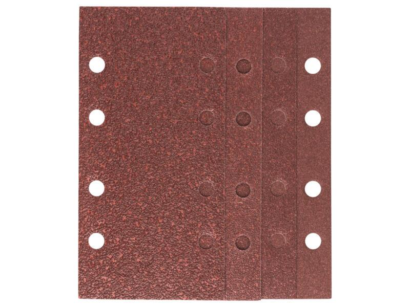 Bosch papier abrasif G40/G60/G80/G120 185x93 mm