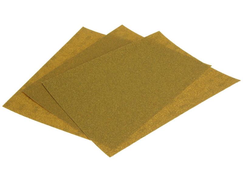 3M papier abrasif G60 G80 vert 3 pièces