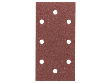 Bosch papier abrasif G80 185x93 mm 10 pièces