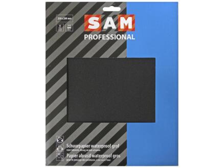 Sam papier abrasif résistant à l'eau G180 5 pièces