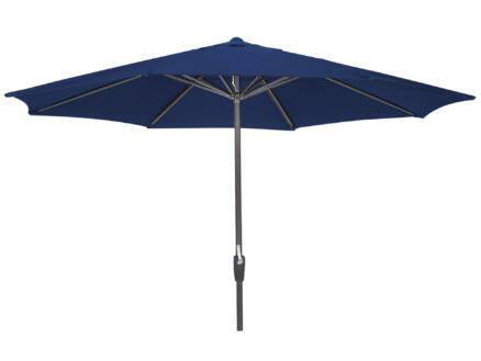 Garden Plus parasol 3,5m met hendel blauw