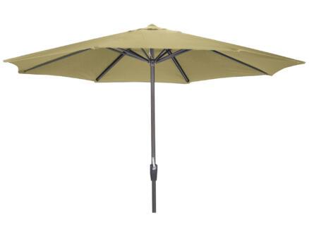 Garden Plus parasol 3,5m met hendel zand