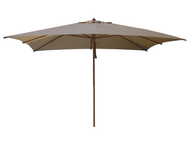 Garden Plus parasol de luxe 3x4 m taupe