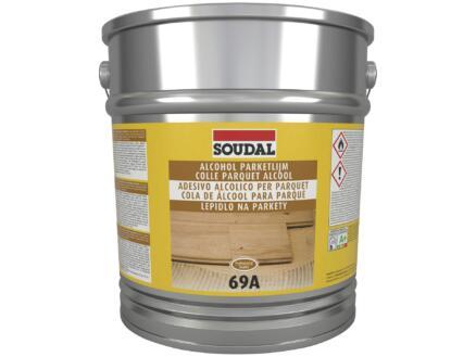 Soudal parketlijm alcohol 69A 13kg beige