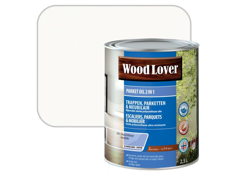 Wood Lover parketolie 2-in-1 2,5l transparant