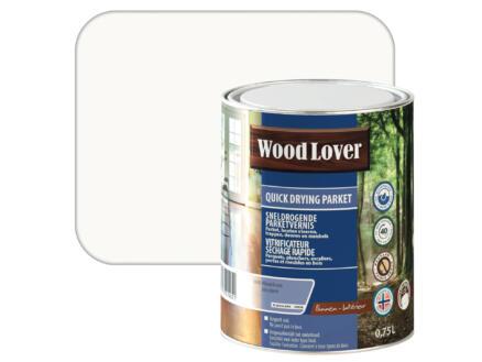 Wood Lover parketvernis sneldrogend 0,75l kleurloos