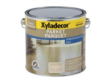 Xyladecor parketvernis sneldrogend zijdeglans 2,5l