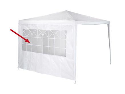 Garden Plus parois avec fenêtre 2x3 m blanc 2 pièces