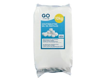 Van Marcke go pastilles de sel pour adoucisseur d'eau 10kg
