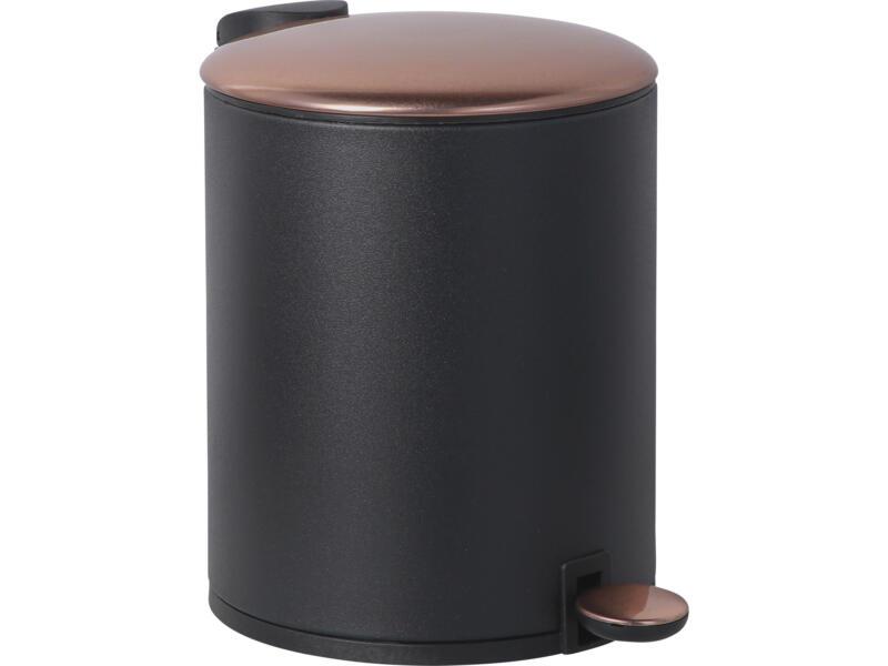 Practo Home pedaalemmer 5l zwart/brons