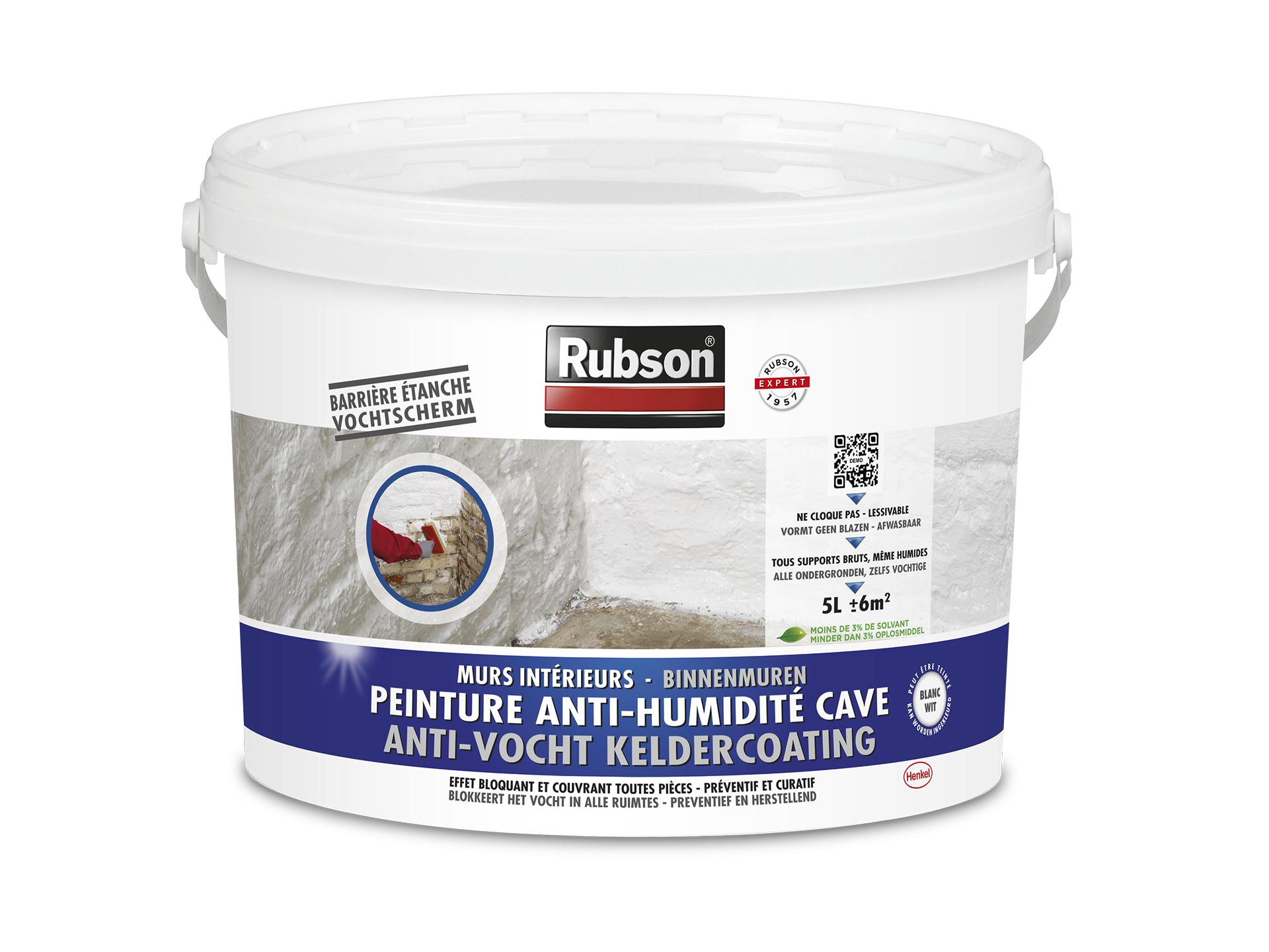 Rubson Peinture Anti Humidité Cave 5l