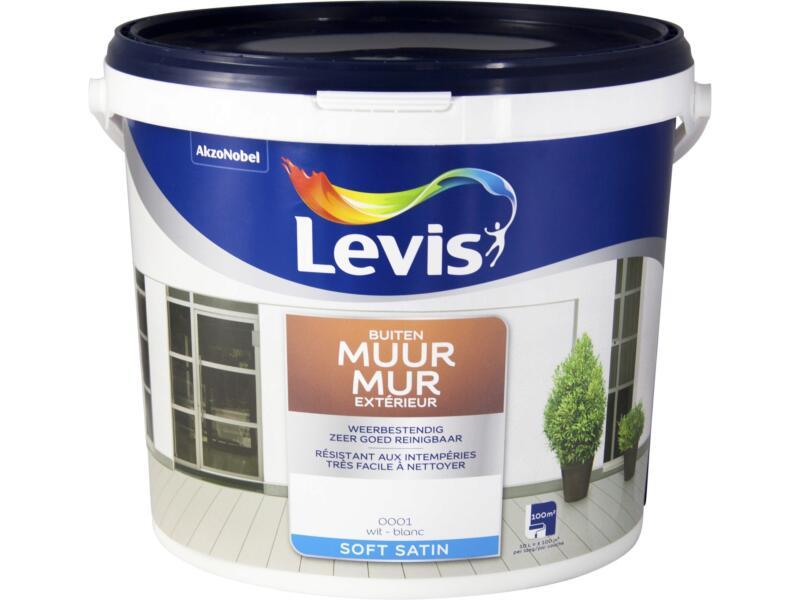 Levis peinture façade satin 10l blanc