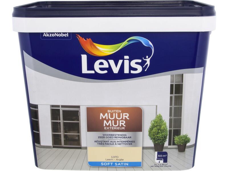 Levis peinture façade satin 5l argile