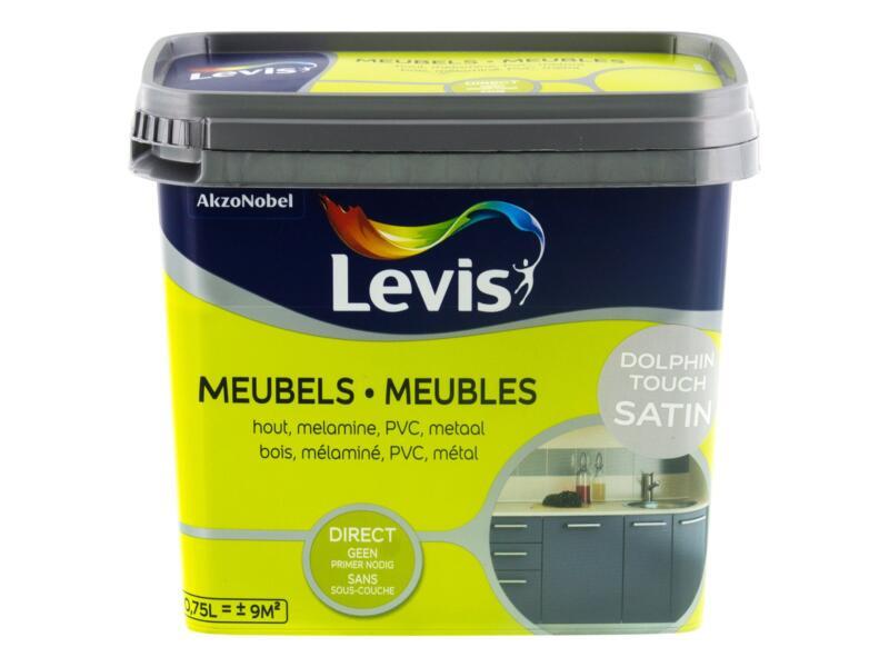 Levis peinture meubles satin 0,75l dolphin touch