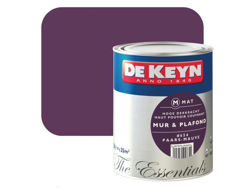 De Keyn peinture mur & plafond mat 2,5l mauve #654