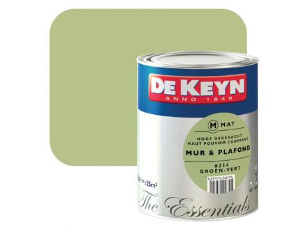 De Keyn peinture mur & plafond mat 2,5l vert #254