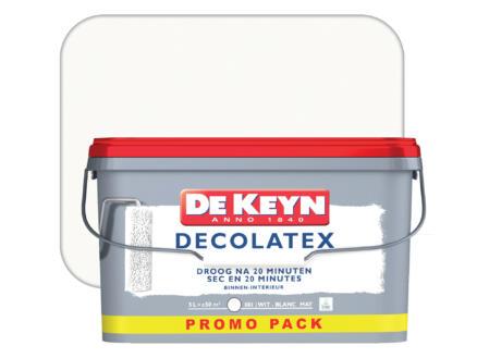 De Keyn peinture mur & plafond mat 5l blanc #001