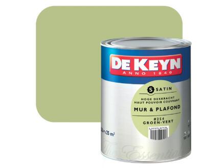 De Keyn peinture mur & plafond satin 2,5l vert #254