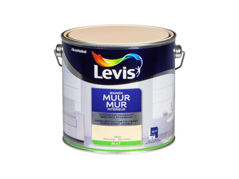 Levis peinture murale intérieur mat 2,5l été indien