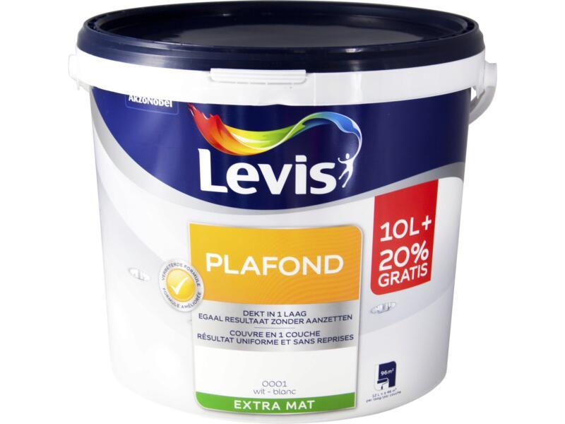 Levis peinture plafond mat 12l blanc