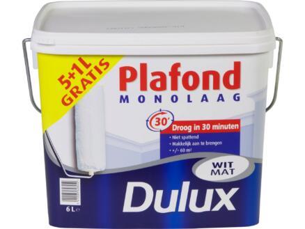Dulux peinture plafond monocouche mat 5+1l blanc