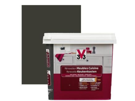 V33 Peinture Renovation Meubles De Cuisine Satin 0 75l Metal Hubo