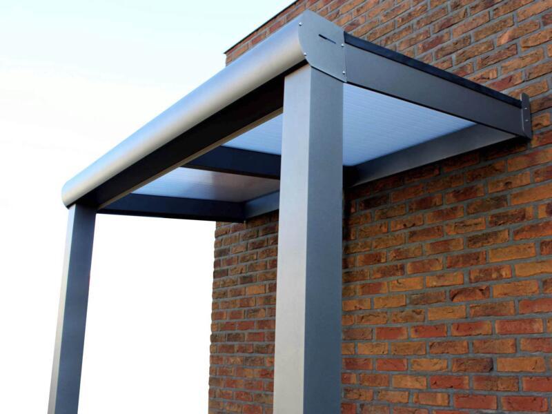 Scala pergola 3x3,5 m helder/brons