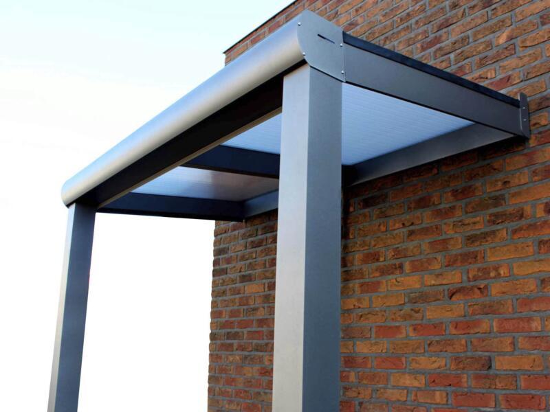 Scala pergola 3x3,5 m opalin/bronze