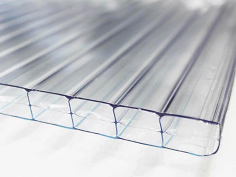 Scala pergola 3x3 m transparent/blanc