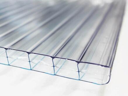 Scala pergola 4x3 m transparent/bronze