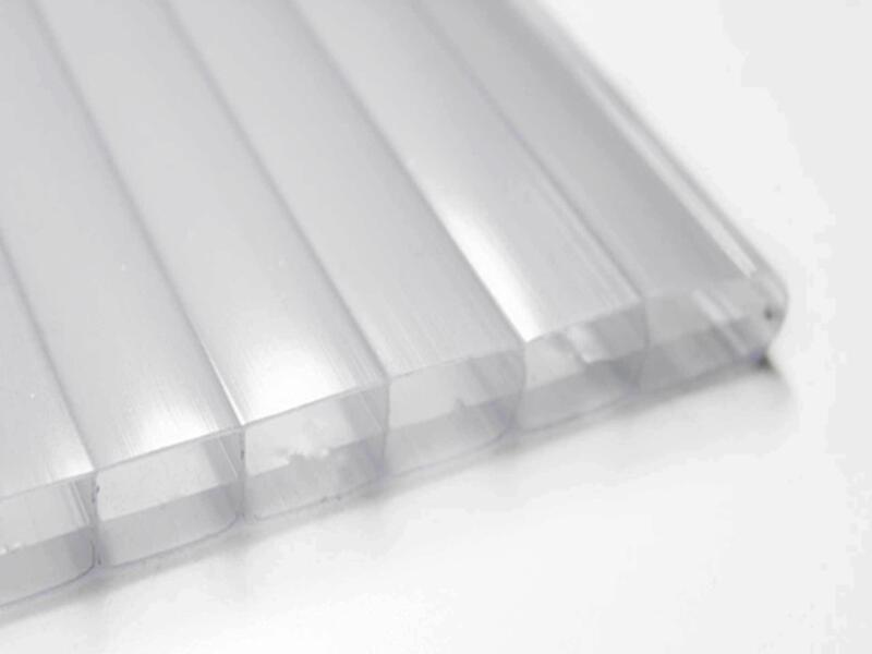 Scala pergola 4x4 m opalin/blanc