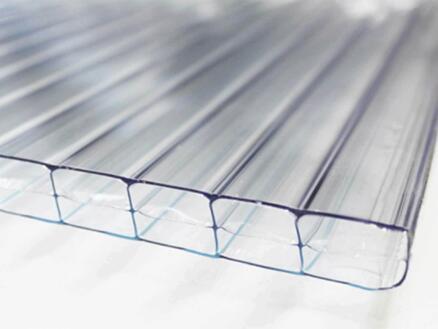 Scala pergola 4x4 m transparent/blanc