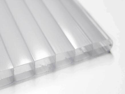 Scala pergola 5x2,5 m opalin/blanc