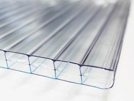 Scala pergola 5x3 m transparent/chêne
