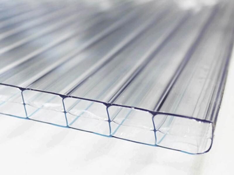 Scala pergola 6x2,5 m helder/antraciet