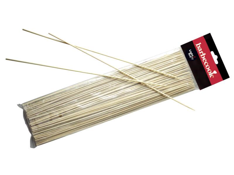 Barbecook pics à brochettes bambou 100 pièces