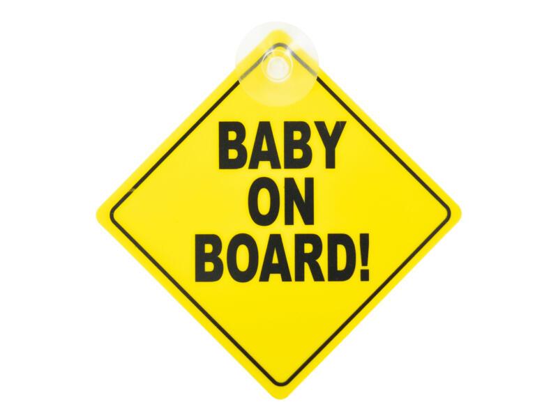 Carkids pictogram baby on board 20cm