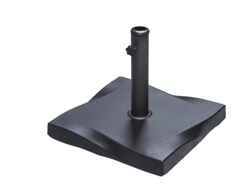 Garden Plus pied de parasol en béton 25kg noir