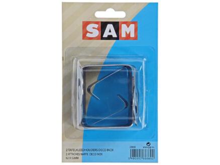 Sam pince-nappe déco 2 pièces