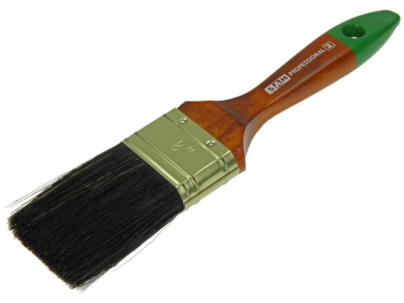 Sam pinceau professionnel plat lasure 51mm