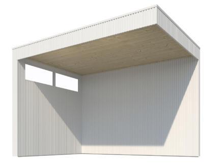 Gardenas plafond pour extension QBV 298x298 cm