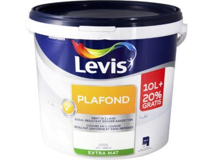 Levis plafondverf mat 12l wit