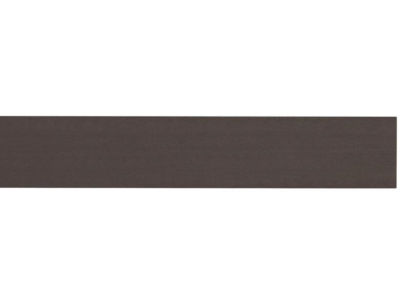 Grad By You planche de terrasse 200x12x2,1 cm composite brun