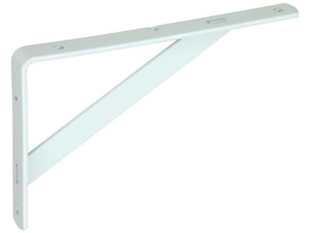 Mack plankdrager versterkt 125x200 mm wit