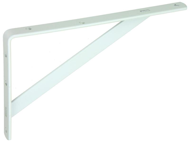 Mack plankdrager versterkt 150x250 mm wit
